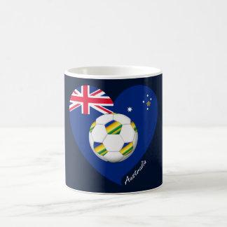 """Australian Soccer Team. Fútbol de """"AUSTRALIA"""" Taza Clásica"""