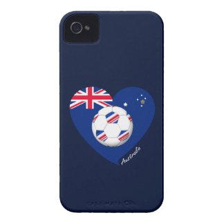 """Australian Soccer Team. Soccer of """"AUSTRALIA """" Case-Mate iPhone 4 Case"""