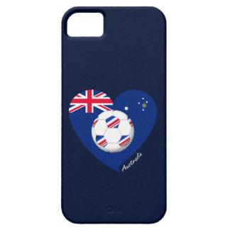 """Australian Soccer Team. Soccer of """"AUSTRALIA """" iPhone SE/5/5s Case"""
