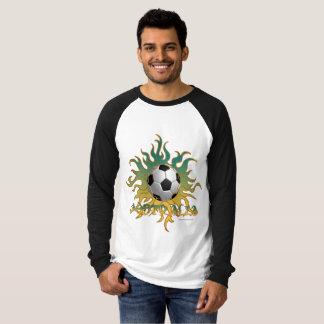 Australian Soccer Tribal Sun Raglan Jersey T-Shirt