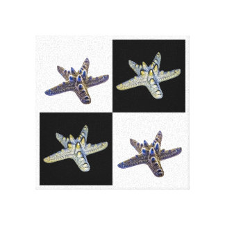 Australian Starfish Composite Design Canvas Print