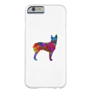 Australian Stumpy Tail Cattle Dog in watercolor.pn Barely There iPhone 6 Case