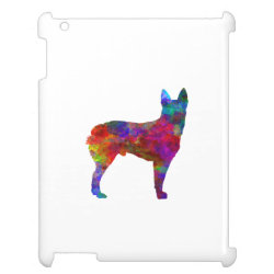 Case Savvy Glossy Finish iPad Case with Australian Cattle Dog Phone Cases design