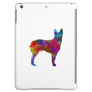 Australian Stumpy Tail Cattle Dog in watercolor.pn iPad Air Cover