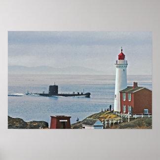 "Australian Submarine ""Onslow"" Poster"