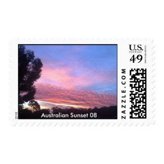 Australian Sunset 08 2 Postage