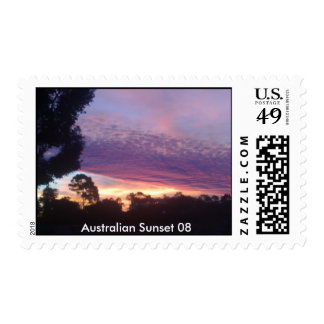Australian Sunset 08 Postage