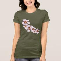 Australian Teatree flower floral pattern T-Shirt