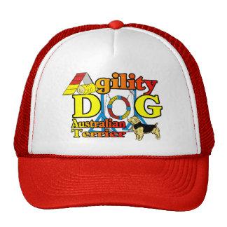 Australian_Terrier_Agility Trucker Hat