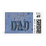 Australian Terrier DAD Postage Stamps