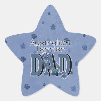 Australian Terrier DAD Star Sticker