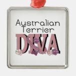 Australian Terrier DIVA Ornaments