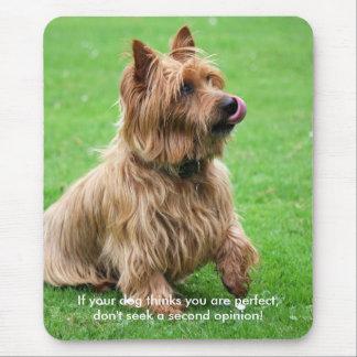 Australian Terrier  dog mousemat, present idea Mouse Pad