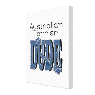 Australian Terrier DUDE Canvas Prints