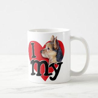 Australian Terrier I (heart) my Classic White Coffee Mug