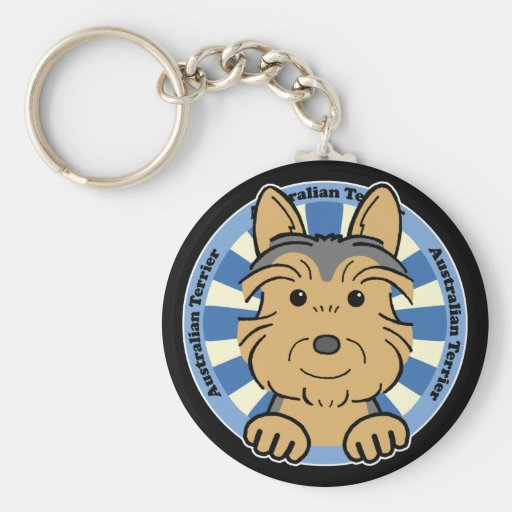 Australian Terrier Key Chains