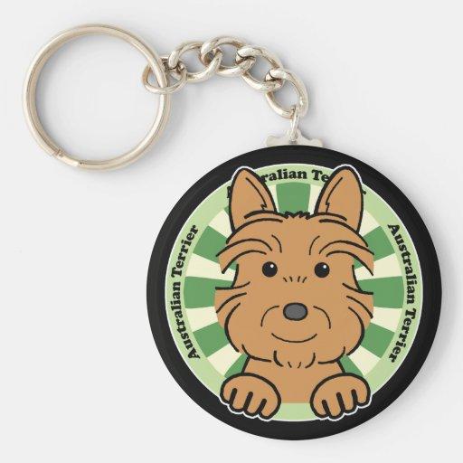 Australian Terrier Keychains