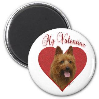 Australian Terrier My Valentine - Magnet