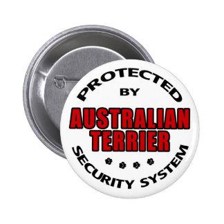 Australian Terrier Security Button