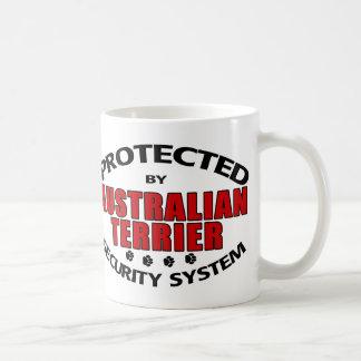 Australian Terrier Security Coffee Mugs