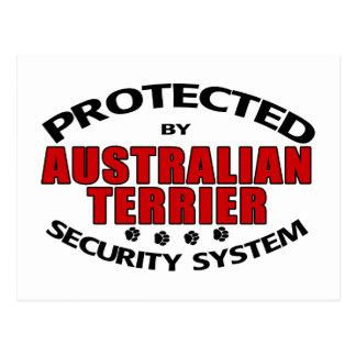 Australian Terrier Security Postcard