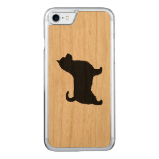 Australian Terrier Silhouette, Long Tail Carved iPhone 7 Case