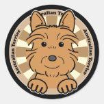 Australian Terrier Stickers