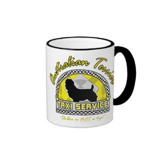 Australian Terrier Taxi Service Mug