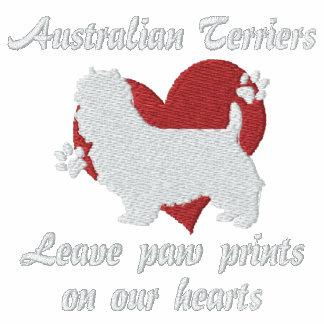 Australian Terriers Leave Paw Prints