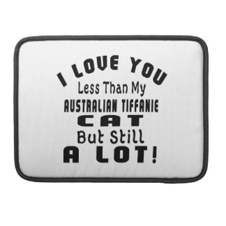 AUSTRALIAN TIFFANIE FUNNY DESIGNS SLEEVE FOR MacBook PRO