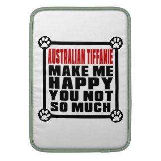 AUSTRALIAN TIFFANIE MAKE ME HAPPY YOU NOT SO MUCH SLEEVE FOR MacBook AIR