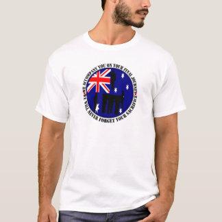 Australian traps Heroes Funeral T-Shirt