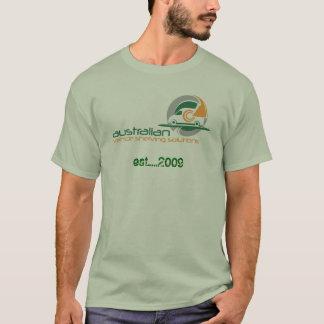 australian_vehicle_shelving_solutions_logo, est... T-Shirt