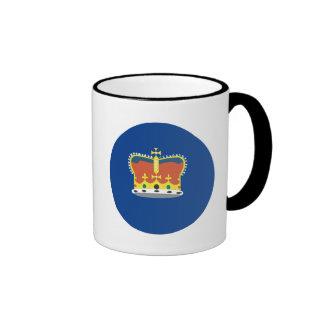 Australian Victoria Flag Ringer Mug