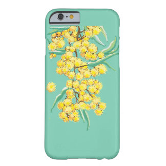 Australian wattle blossoms barely there iPhone 6 case