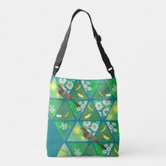 Australian Wattlebird Cross Body Bag