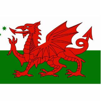 Australian Welsh Heritage, Australia flag Photo Cutouts