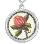 Australian Wild Flowers Necklaces