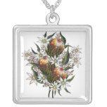 Australian Wild Flowers Necklace