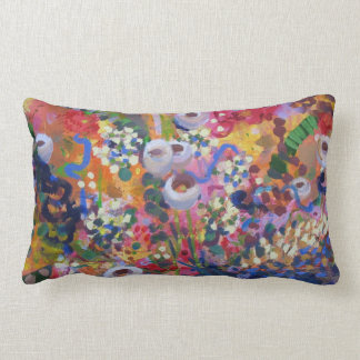 Australian wildflowers front and back throw pillow