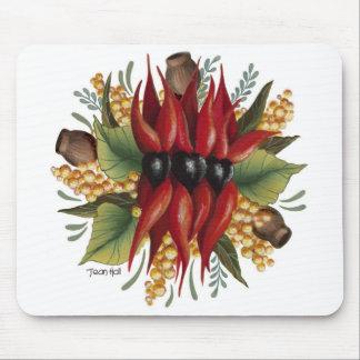 Australian Wildflowers - Sturt Desert Pea Mouse Pad