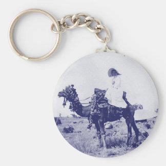 Australian woman circa 1880 keychain