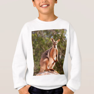 Australian yellow-footed rock wallaby sweatshirt