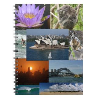 Australiana Spiral Notebook