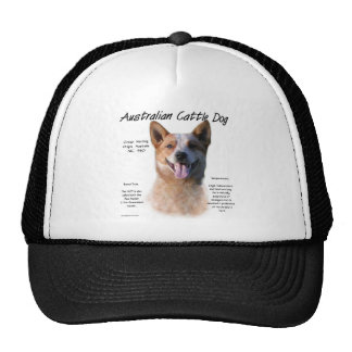 AustralianCattle Dog redspec History Design Hat