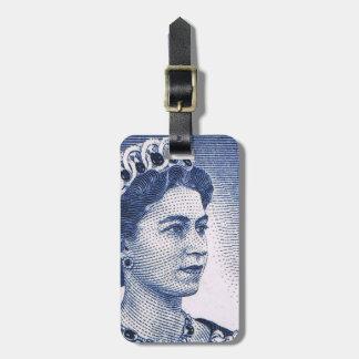 Australiano de la reina Elizabeth Australia del Etiquetas Para Equipaje