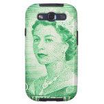 Australiano de la reina Elizabeth Australia del Samsung Galaxy S3 Protectores