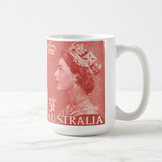 Australiano de la reina Elizabeth Australia del Taza