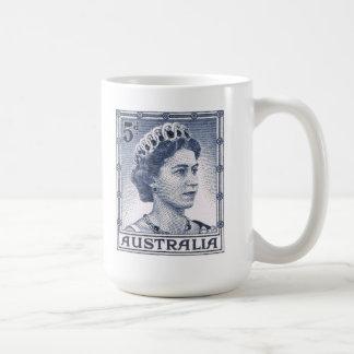 Australiano de la reina Elizabeth Australia del Tazas De Café