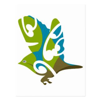Australiano de Silvereye y pájaro de Nueva Zelanda Postal